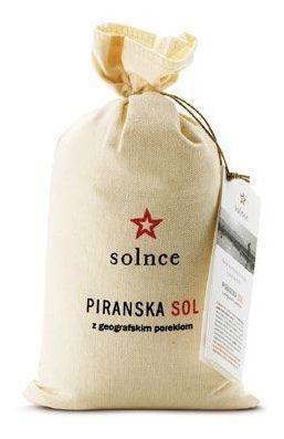 Salz aus Piran 1kg im Leinensack